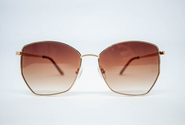 Meißburger Gold Metall Sonnenbrille