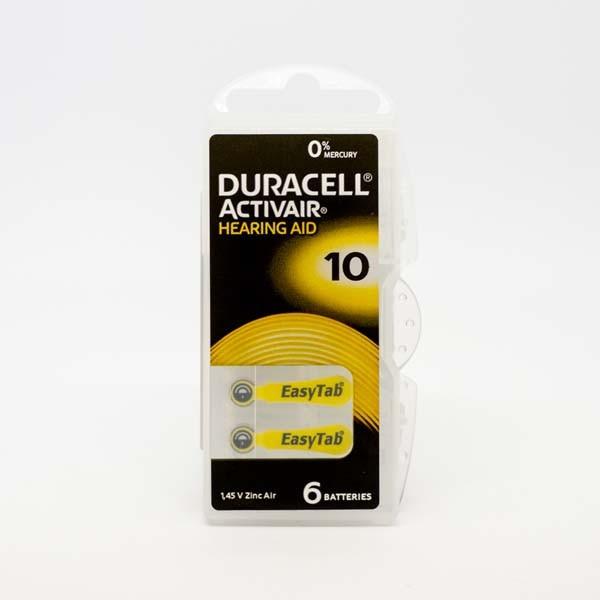 Duracell A10 Premium Hörgerätebatterien