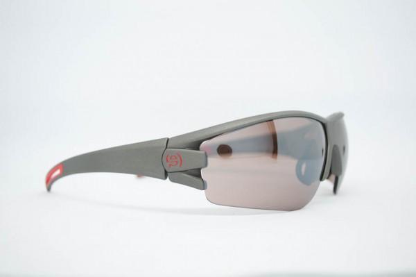 Evil Eye Sportbrille grau/rot
