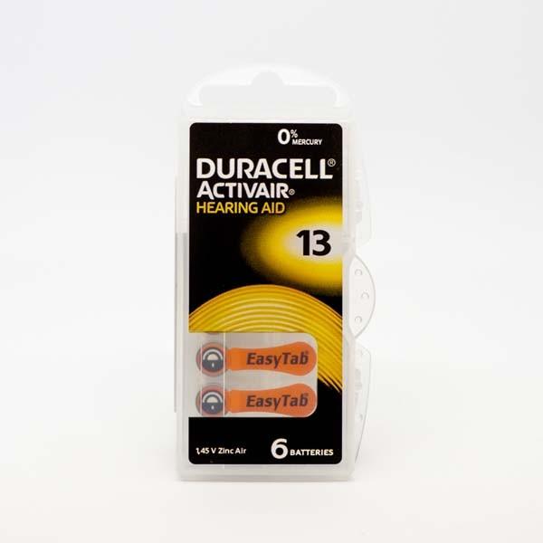 Duracell A13 Premium Hörgerätebatterien