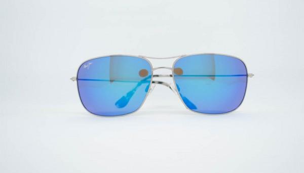 Maui Jim Metall blau verspiegelt