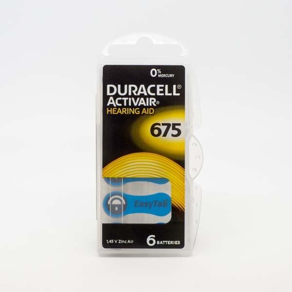 Duracell A675 Premium Hörgerätebatterien